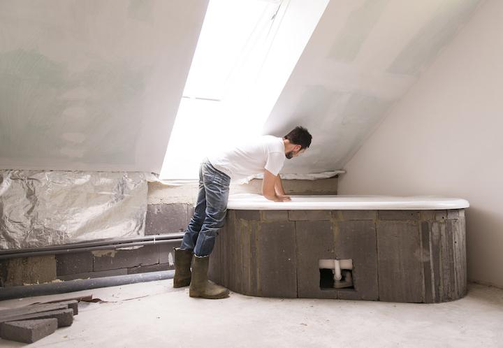 Badkamer Op Zolder Maken Tips Foto S Voorbeelden Zolderrenovatie Net